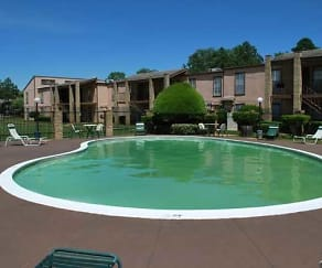 Pool, Timbercrest Apartments