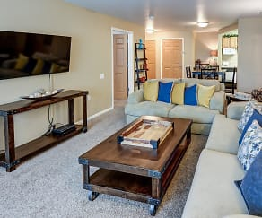 Living Room, Birchwood Apartment Homes