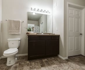 Bathroom, Diamond Bend Apartments