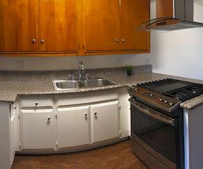 Kitchen, Pine Terrace Apartments