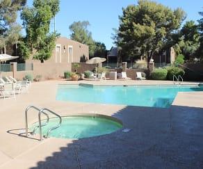 Pool, Greenway Springs Apartments