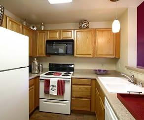 Kitchen, Sahara West Town Homes & Apartments