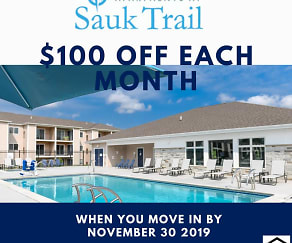 Apartments At Sauk Trail, Kinderhook, MI