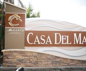 Community Signage, Casa Del Mar