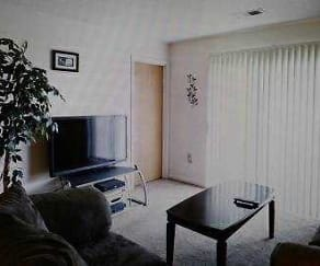 Living Room, Breckenridge Apartments