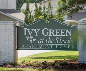 Community Signage, Ivy Green at The Shoals