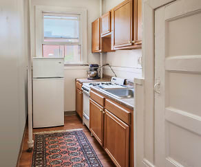 Kitchen, Caldwell Apartments