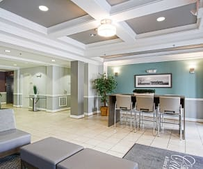 Foyer, Entryway, Courts At Historic Manassas