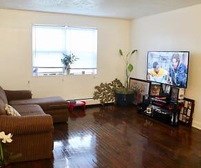 Living Room, Magnolia Park Apartments