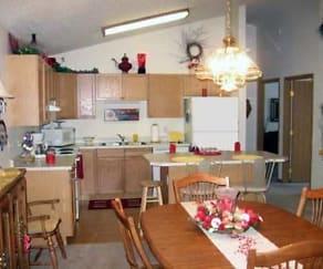 Kitchen, Park Avenue Apartments