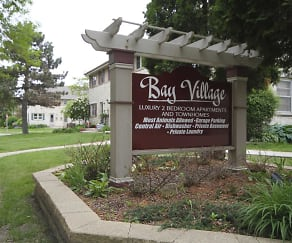 Community Signage, Bay Village Townhomes