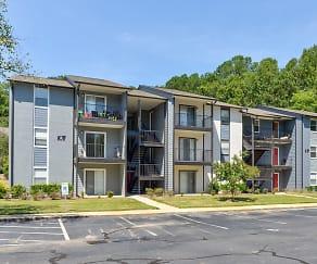 Building, Triangle Park Apartments
