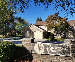 Community Signage, Birchwood Pointe Apartments