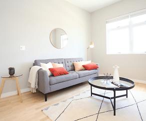 Living Room, Flats at 25th