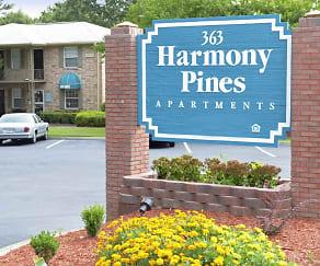 Community Signage, Harmony Pines