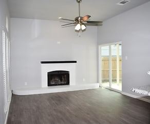 Living Room, 6607 Lakeside Dr