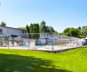 Pool, Townhouse Villas