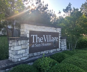 Community Signage, First Choice at The Village at Sam Houston