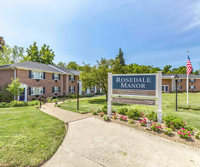 Community Signage, Rosedale Manor