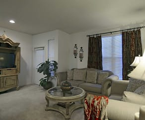 Living Room, LaCrosse Apartments & Carriage Homes