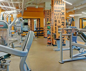 Fitness Weight Room, The Grand Cherry Hill Apartment Homes