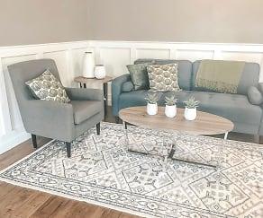 Living Room, Metro Apartments at Granite City
