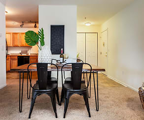 Dining Room, Village of Westover Apartments