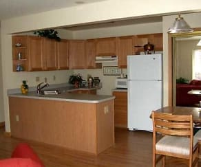 Kitchen, Arbor Apartments