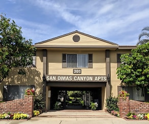Building, San Dimas Canyon Apartments