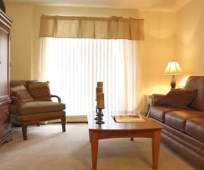 Living Room, Kimball Court Apartments