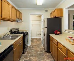 Kitchen, Calibre Lake