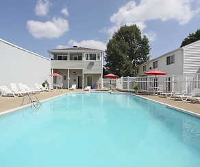 Pool, Shorewood Apartments