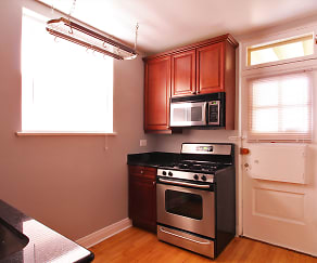 Kitchen, 922 Ontario Apartments
