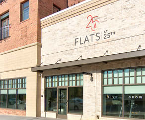 Building, Flats at 25th