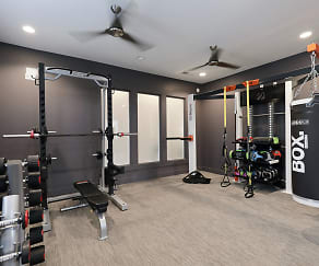Fitness Weight Room, Evolve Timber Creek