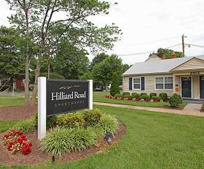 Community Signage, Hilliard Road Apartments
