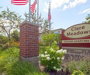 Community Signage, Clare Meadows Senior Apartments