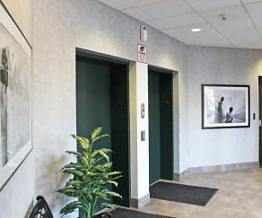 Lobby Elevators, Brookview Commons