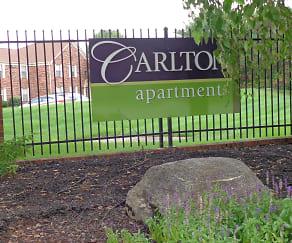 Community Signage, Carlton Apartments