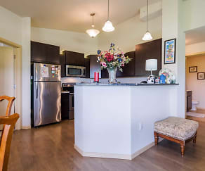 Kitchen, Scenic Ridge Apartments