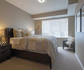 Bedroom, The Flats at Cedar Grove Apartments