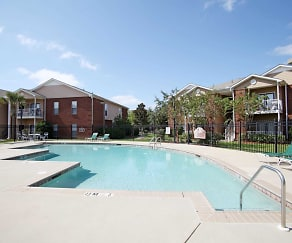 Pool, Annandale Park Apartments