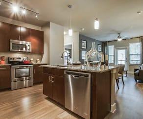 Kitchen, Flats at Uptown
