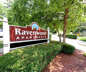Community Signage, Ravenwood Apartments