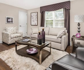 Living Room, The Gardens At Wesmont Station