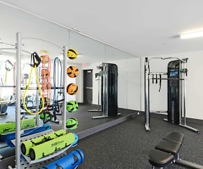Fitness Weight Room, The Tremont