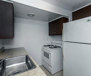 Kitchen, Downtown Town Homes