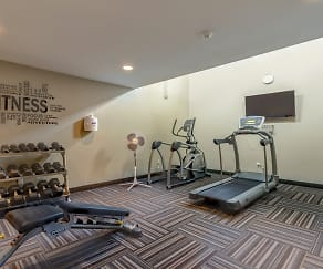 Fitness Weight Room, Northern Heights Apartments