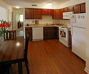 Kitchen, Brookview Apartments