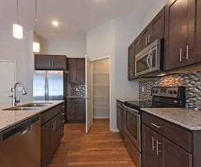 Kitchen, Aspen Lofts